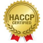 Hazard Analysis and Critical Control Points (HACCP) Certified